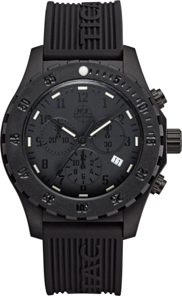H3 Tactical Trooper Carbon Cronograph H3 Uhr Black H3.3322.798.1.3
