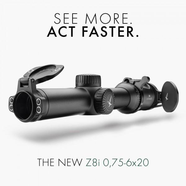 Swarovski Z8i 0,75-6x20 See More Act Faster