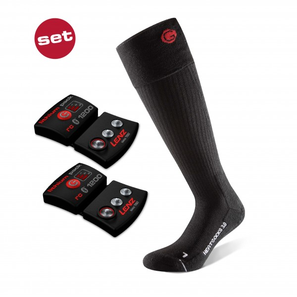 Lenz Set Lithium Pack rcB 1200 + Heat Sock 3.0 unisex