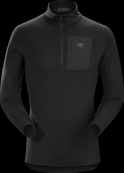 Arcteryx Satoro SV ZIP Neck LS Men's Black