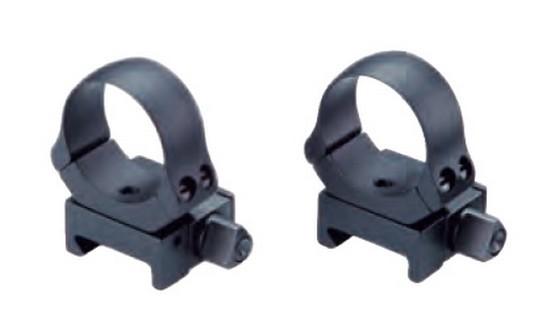 Aufkippmontage für Weaver-Profil / Ringe