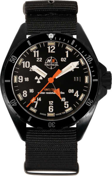 H3 TACTICAL Trooper Diver GMT H3 Uhr H3.3112.789.1.4